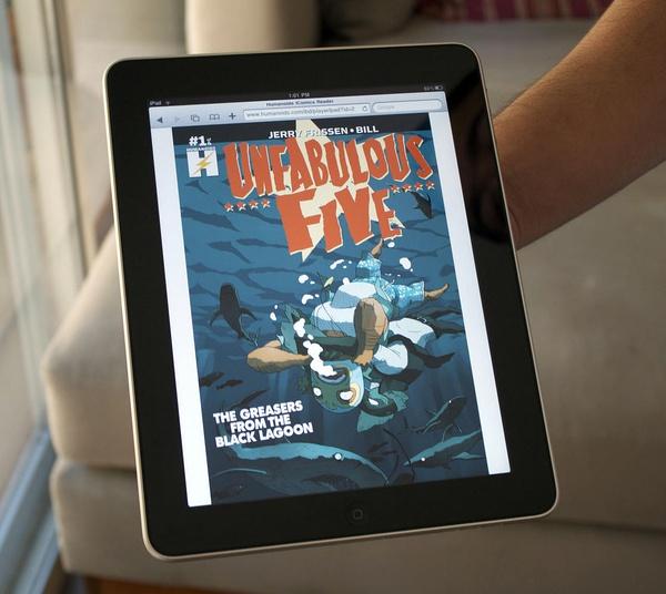 iPad Comics