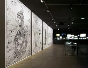 Moebius exhibit (Fondation Cartier Pour L'Art Contemporain)