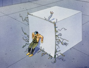 """Box Office"" by Moebius (Moebius Foundation)"