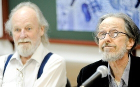 Glibert Shelton(left) and Robert Crumb(right) in 8th FLIP (2010)